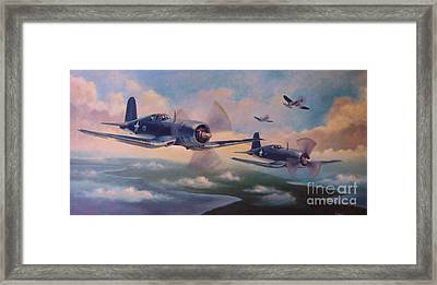Walsh's Flight Framed Print by Stephen Roberson