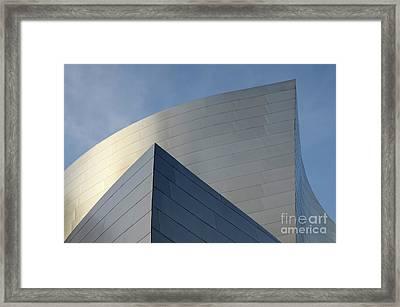 Walt Disney Concert Hall 3 Framed Print by Bob Christopher