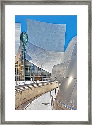 Walt Disney Concert Hall Framed Print by David Zanzinger