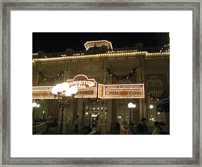Walt Disney World Resort - Magic Kingdom - 12121 Framed Print by DC Photographer