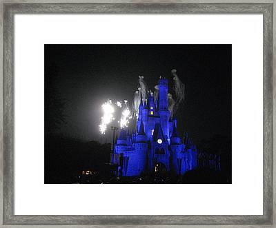Walt Disney World Resort - Magic Kingdom - 121210 Framed Print