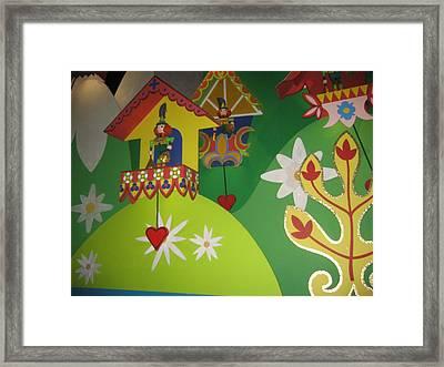 Walt Disney World Resort - Magic Kingdom - 1212109 Framed Print by DC Photographer