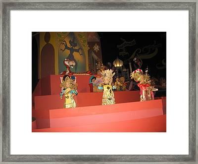 Walt Disney World Resort - Magic Kingdom - 1212110 Framed Print