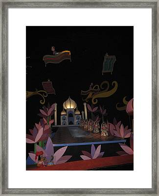 Walt Disney World Resort - Magic Kingdom - 1212112 Framed Print by DC Photographer