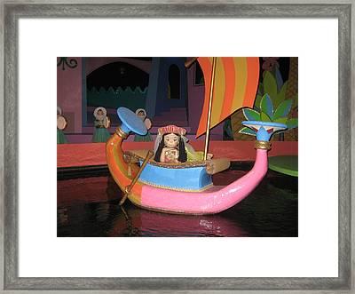 Walt Disney World Resort - Magic Kingdom - 1212114 Framed Print by DC Photographer