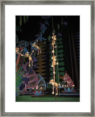 Walt Disney World Resort - Magic Kingdom - 1212115 Framed Print by DC Photographer