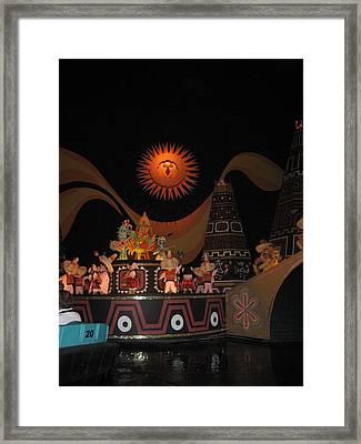 Walt Disney World Resort - Magic Kingdom - 1212118 Framed Print by DC Photographer