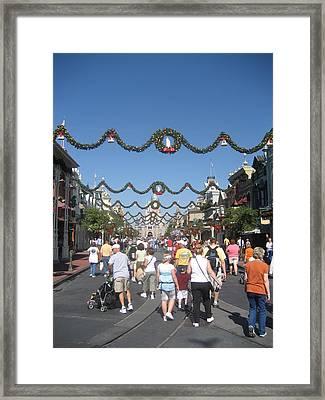 Walt Disney World Resort - Magic Kingdom - 1212128 Framed Print by DC Photographer