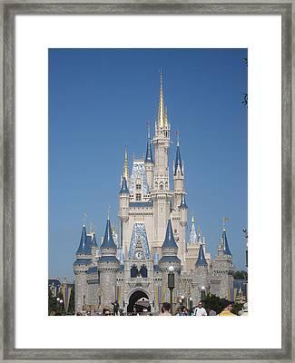 Walt Disney World Resort - Magic Kingdom - 1212129 Framed Print by DC Photographer