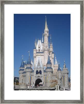 Walt Disney World Resort - Magic Kingdom - 1212134 Framed Print by DC Photographer