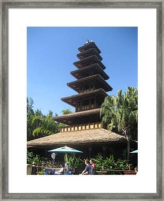 Walt Disney World Resort - Magic Kingdom - 1212135 Framed Print by DC Photographer