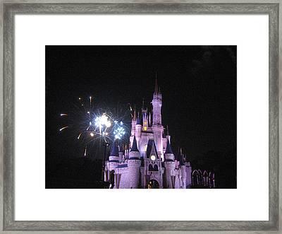Walt Disney World Resort - Magic Kingdom - 121214 Framed Print by DC Photographer