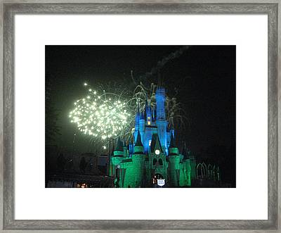 Walt Disney World Resort - Magic Kingdom - 121217 Framed Print