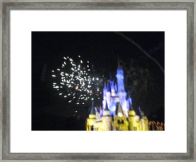 Walt Disney World Resort - Magic Kingdom - 121219 Framed Print by DC Photographer
