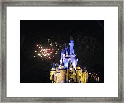 Walt Disney World Resort - Magic Kingdom - 121220 Framed Print