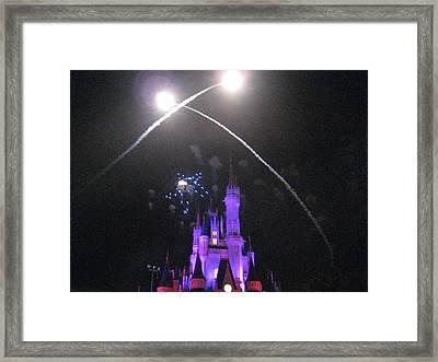 Walt Disney World Resort - Magic Kingdom - 121223 Framed Print by DC Photographer