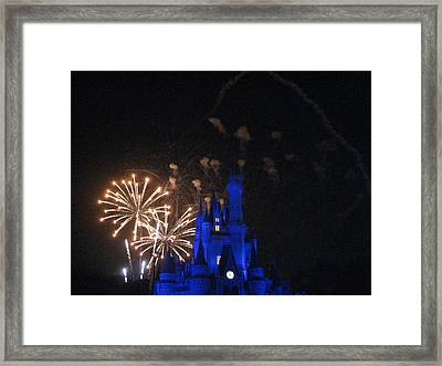 Walt Disney World Resort - Magic Kingdom - 121224 Framed Print