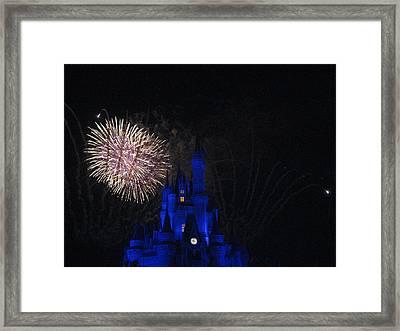 Walt Disney World Resort - Magic Kingdom - 121232 Framed Print by DC Photographer