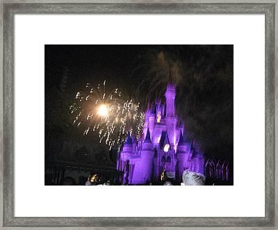 Walt Disney World Resort - Magic Kingdom - 121236 Framed Print