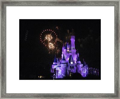 Walt Disney World Resort - Magic Kingdom - 121240 Framed Print by DC Photographer