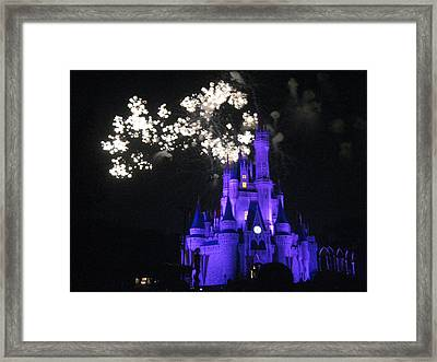 Walt Disney World Resort - Magic Kingdom - 121244 Framed Print by DC Photographer