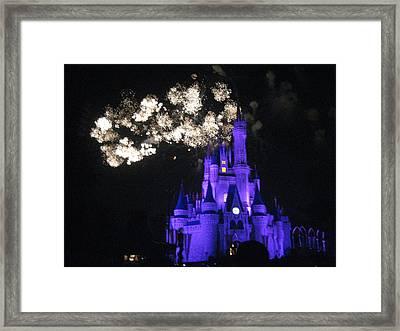 Walt Disney World Resort - Magic Kingdom - 121245 Framed Print by DC Photographer