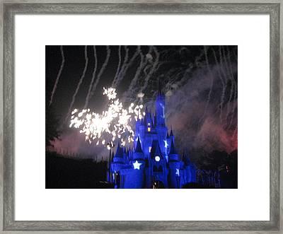 Walt Disney World Resort - Magic Kingdom - 121268 Framed Print by DC Photographer