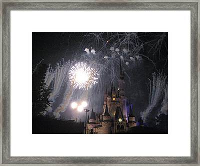 Walt Disney World Resort - Magic Kingdom - 121285 Framed Print