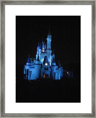 Walt Disney World Resort - Magic Kingdom - 12129 Framed Print