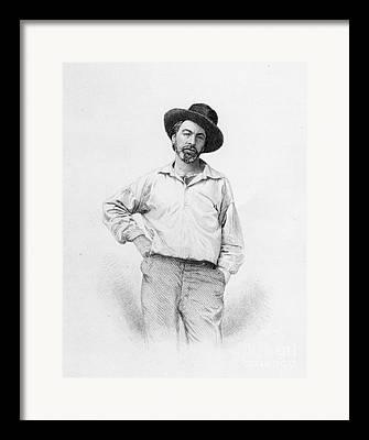Walt Whitman Framed Prints