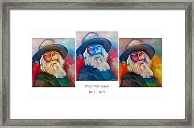 Walt Whitman Poster Framed Print