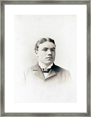 Walter Cannon Framed Print