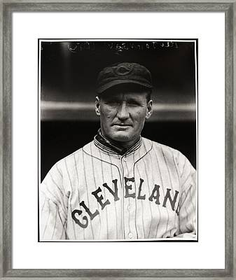 Walter Johnson Framed Print