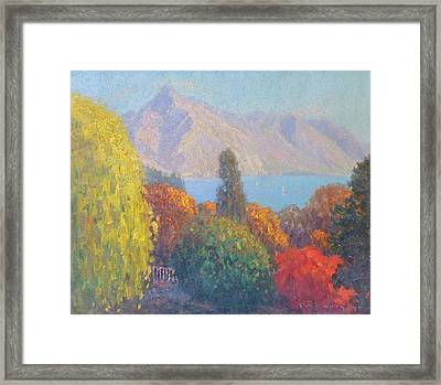 Walter Peak Queenstown Nz Framed Print by Terry Perham