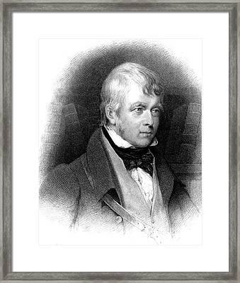 Walter Scott Framed Print