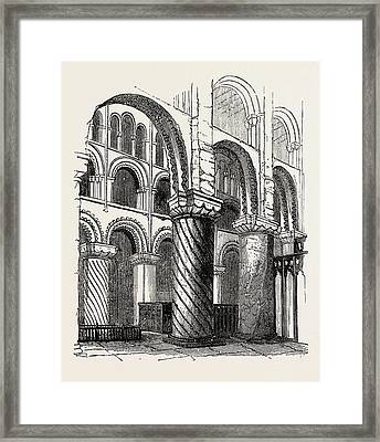 Waltham Abbey Framed Print