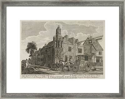 Waltham Cross Framed Print