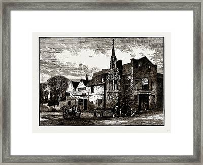 Waltham Cross, Uk Framed Print