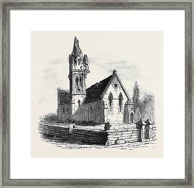 Walton Church, Stafford, Struck By Lightning Framed Print