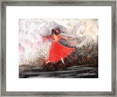 Waltz Framed Print by Kume Bryant