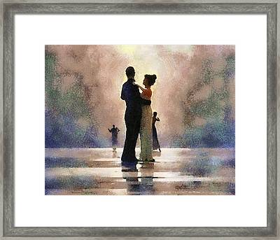 Waltz Like A Mirage Framed Print