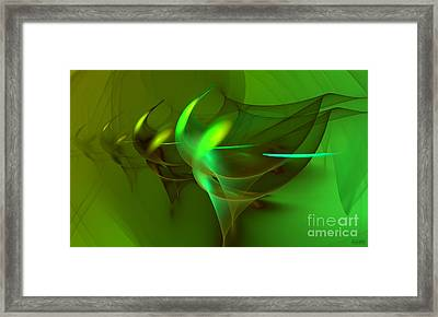 Waltz Of The Flowers Framed Print