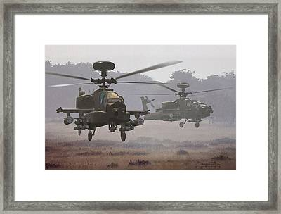 Waltz Of The Hunters Framed Print by Dieter Carlton