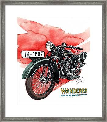 Wanderer Typ 708 Framed Print
