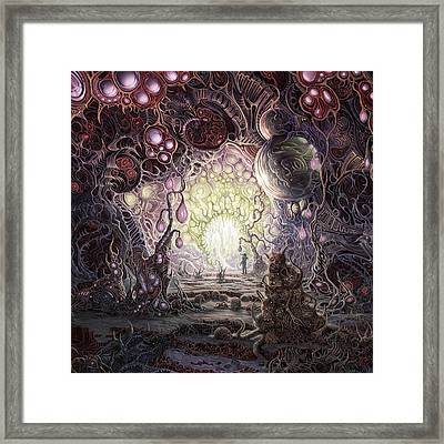 Wanderer Framed Print by Mark Cooper