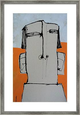Wanderer No. 14 Framed Print by Mark M  Mellon