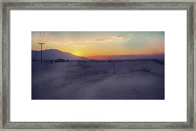 Wanderers Framed Print by Laurie Search
