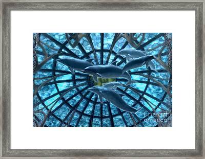 Wandering Atlantis Framed Print