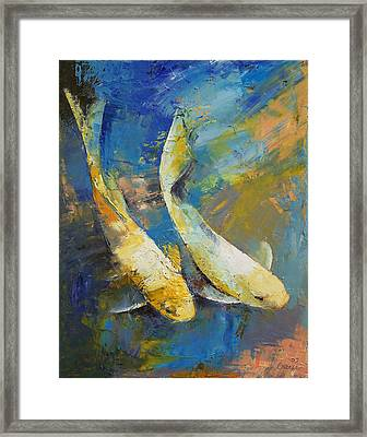 Wandering Framed Print by Michael Creese