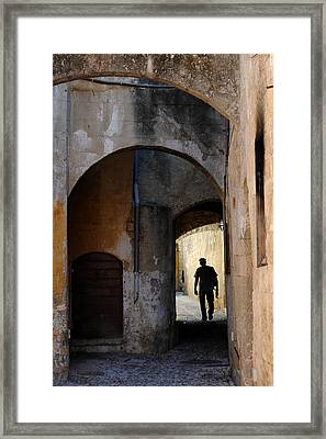 Wandering Minstrall Framed Print by John Jacquemain